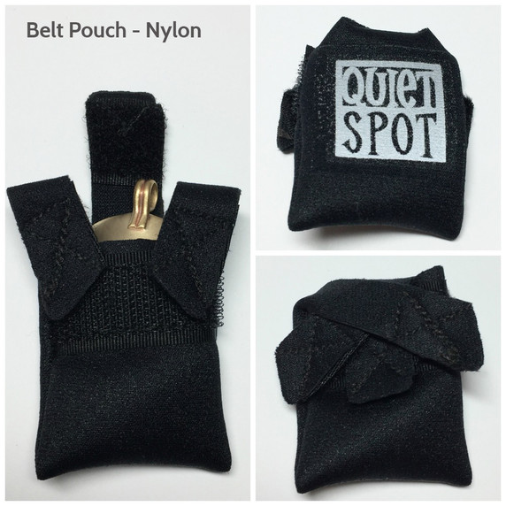 Neoprene Belt pouch to wear with EMF Blocker Pendant or Pet Shield