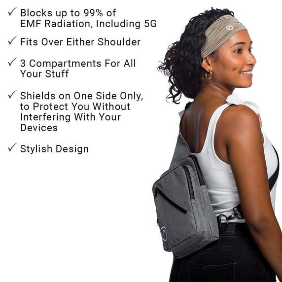 SYB sling back - EMF protection - blocks up to 99% of EMF radiation, including 5G
