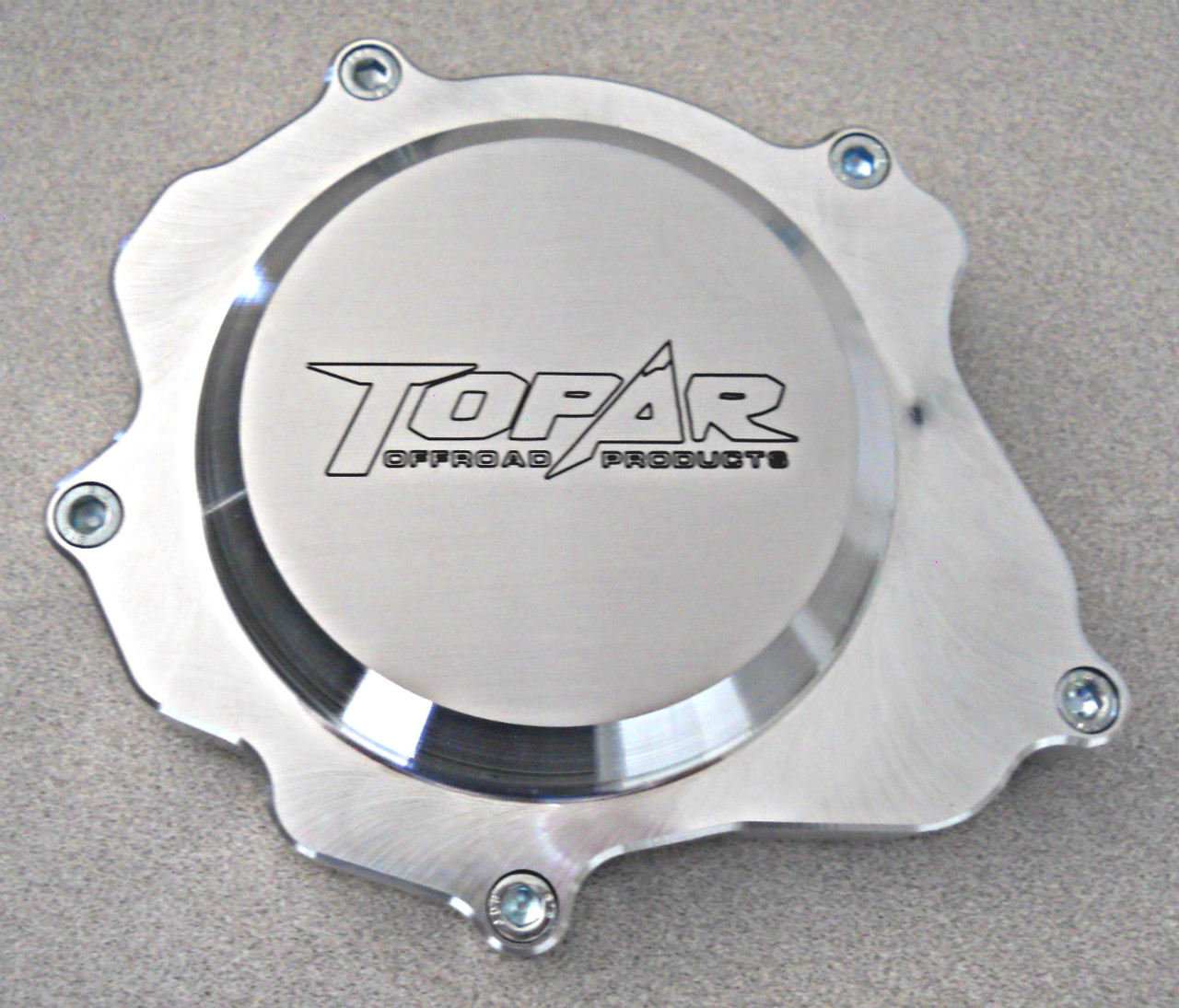 Topar Racing  Ignition Cover for 1990-2004 KAWASAKI KX250 Billet Aluminum  KXI-001