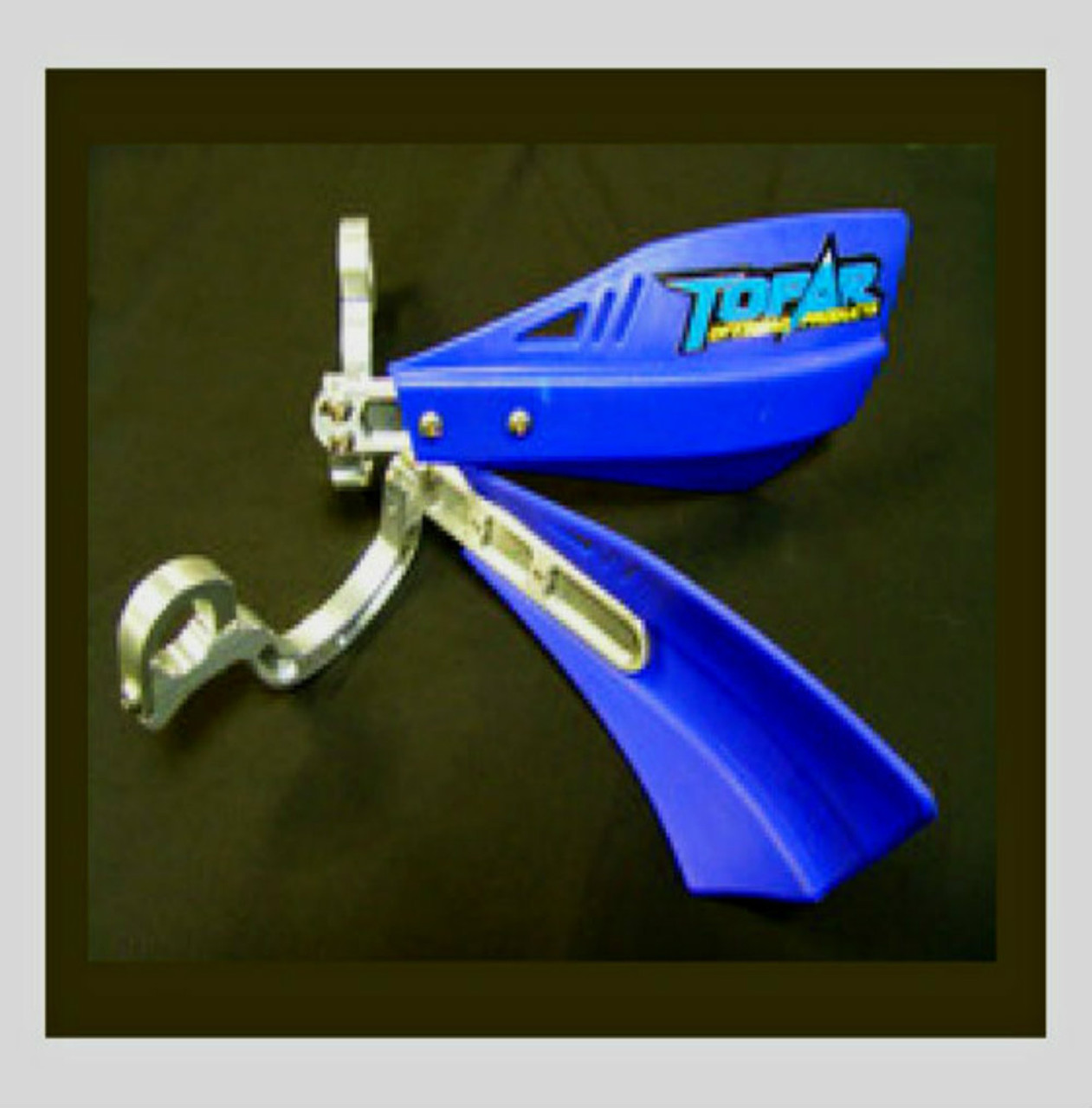 TOPAR RACING HAND GUARD SET - BILLET ALUMINUM FRAME CONSTRUCTION - Shown Assembled