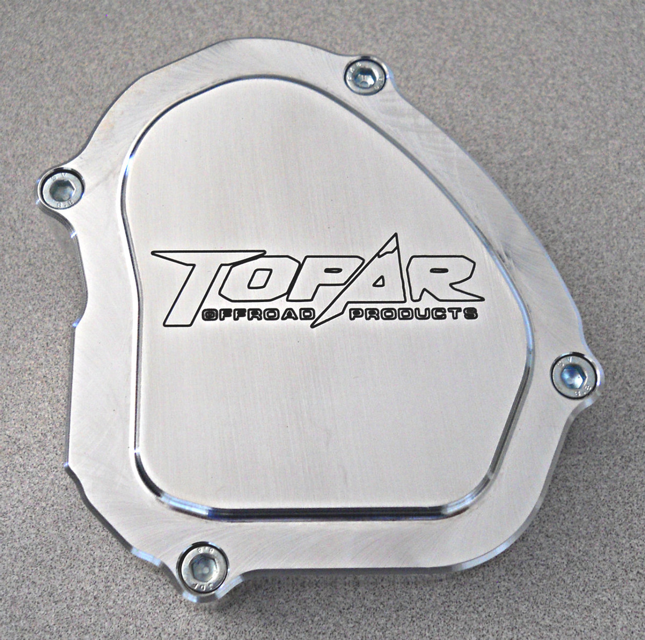 Topar Racing Ignition Cover for 2006-2019 YAMAHA YZ125 - Billet Aluminum YZI-003