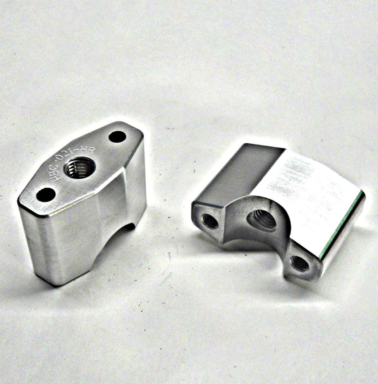 "MBP-78-62    7/8"" Handlebar Diameter Hi-Rise Perch Set Fits Mini Size TOPAR Triple Clamps"