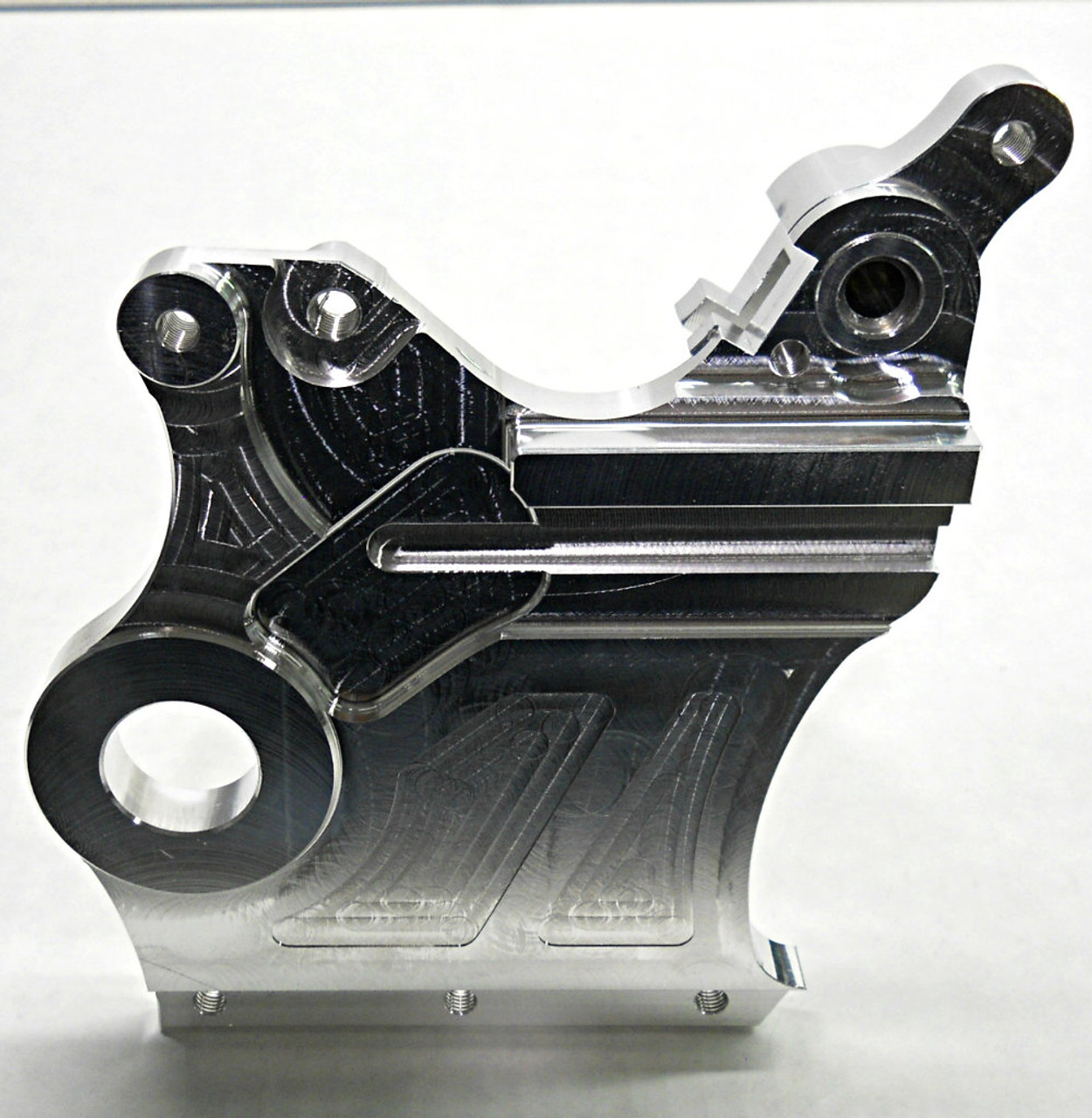 RFM-119 Carrier Mount Close up for 2009-2012 KTM 950 AND 990 ADVENTURE (Outside View)