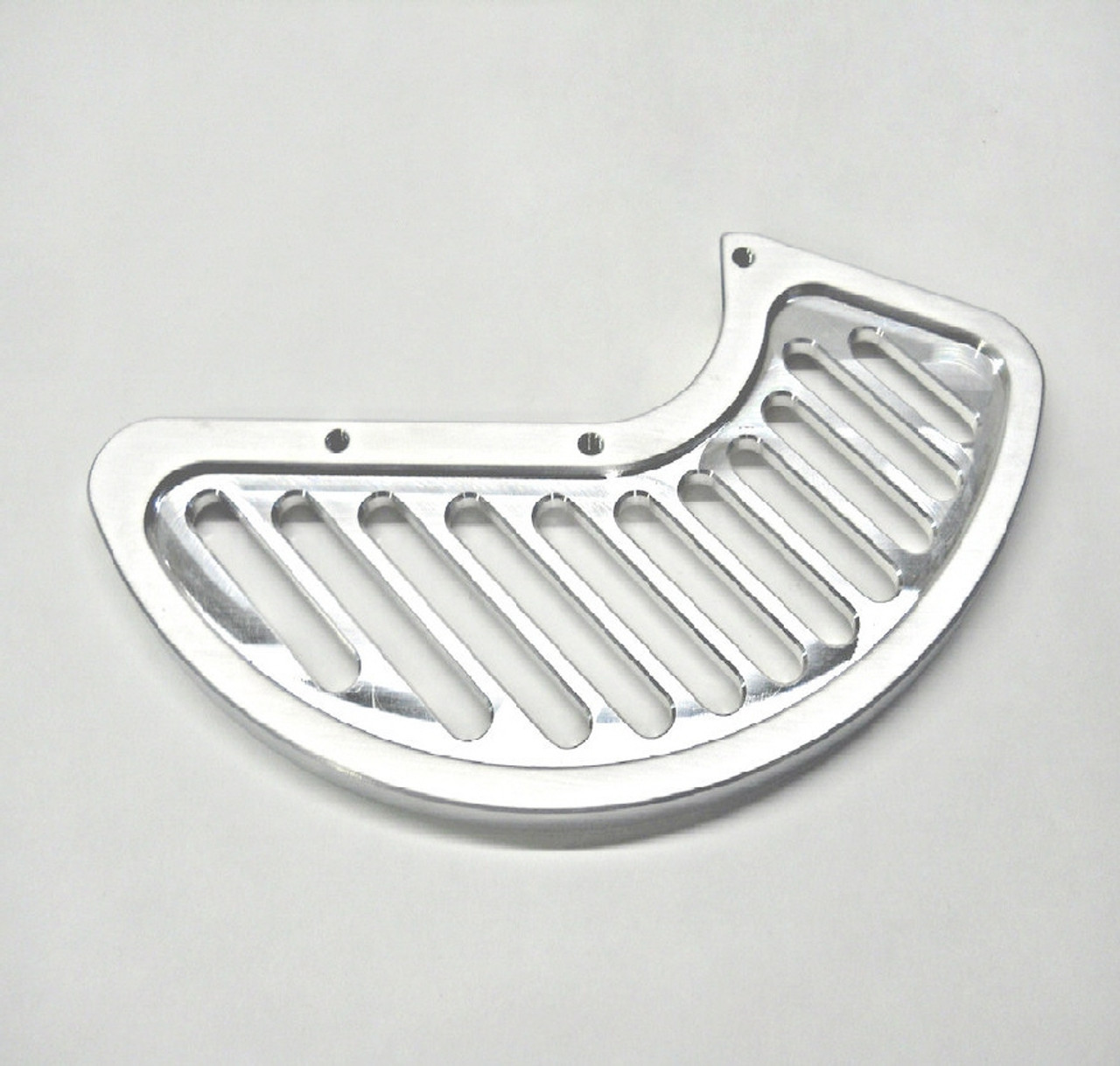 REPLACEMENT FIN - ALUMINUM - OVERSIZE FOR RIGHT SIDE USE ON TOPAR 100 SERIES FRONT BRAKE DISC GUARD MOUNTS