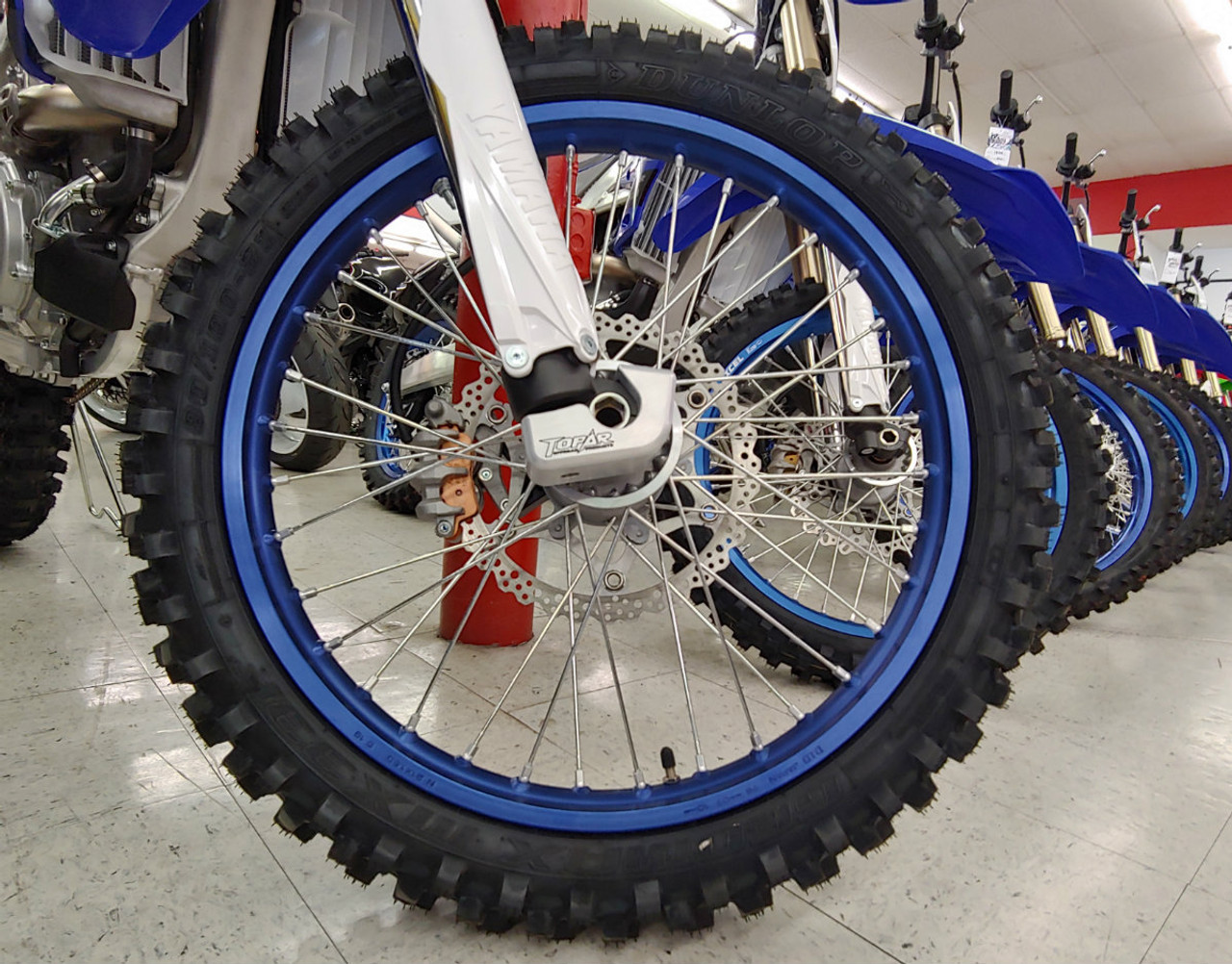 Lower Right Side Fork Leg Guard for 2007-2020 Yamaha YZ, YZF, YZX 125cc-450cc