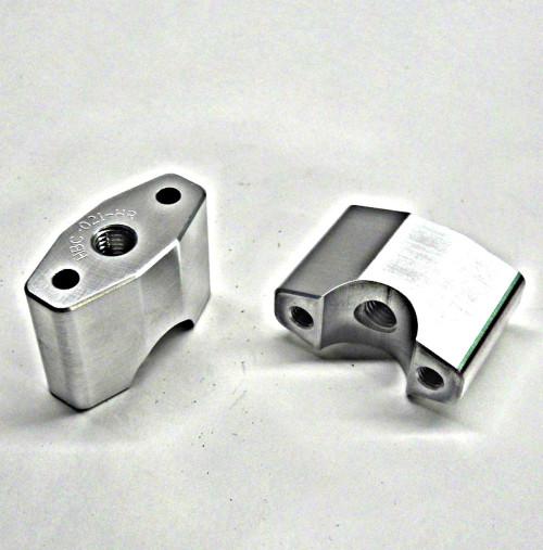 "FBP-118-48   1-1/8"" Handlebar Diameter Hi-Rise Perch Set Fits Full Size TOPAR Triple Clamps"