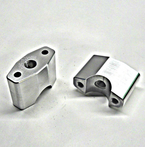"FBP-118-44 1-1/8"" Handlebar Diameter Hi-Rise Perch Set Fits Full Size TOPAR Triple Clamps"