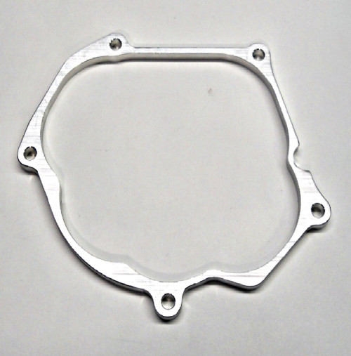 IGNITION COVER SPACER for 2000-2019 YAMAHA YZ250 (SPECIAL APPLICATIONS - 1/4in Thick ) Use when additional flywheel clearance over stock is required