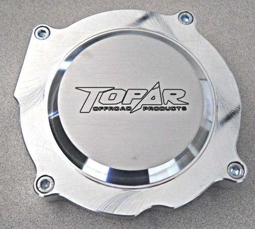 Topar Racing Ignition Cover for HONDA 1990-2001 CR125 and 1986-2001 HONDA CR250  - Billet Aluminum  CRI-001