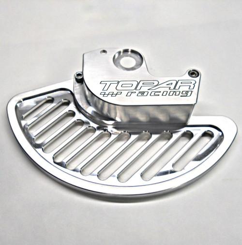 Topar Racing Front Brake Rotor Disc Guard for 1999-2003 KAWASAKI KX125 and KX250