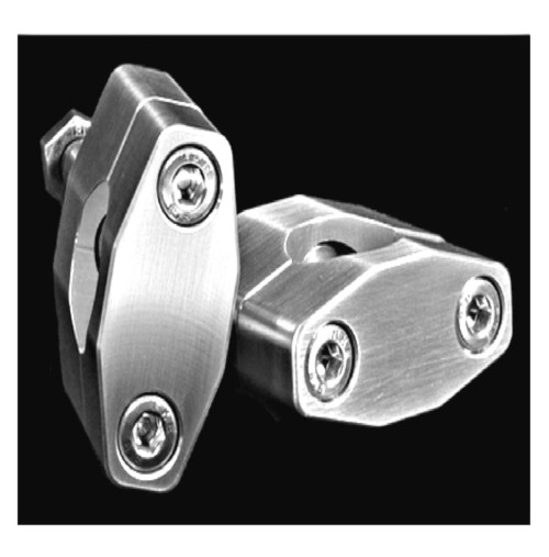 HONDA HANDLEBAR SIZE ADAPTER PERCHES  7/8in. to 1-1/8in (for rubber mount style OEM Replacement)