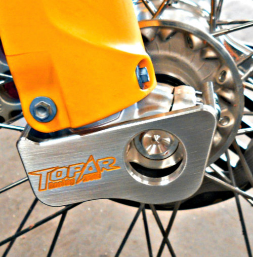 Topar Racing Lower Fork Leg Guard for 2015-2019 KTM, HUSQVARNA with WP FORKS and SHERCO W/WP EXPLORER FORKS