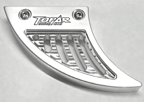 Topar Racing Chain Guard Fin for 2003-2012 KTM 950 and 990 ADVENTURE BILLET ALUMINUM (Lower Fin of set of 2)