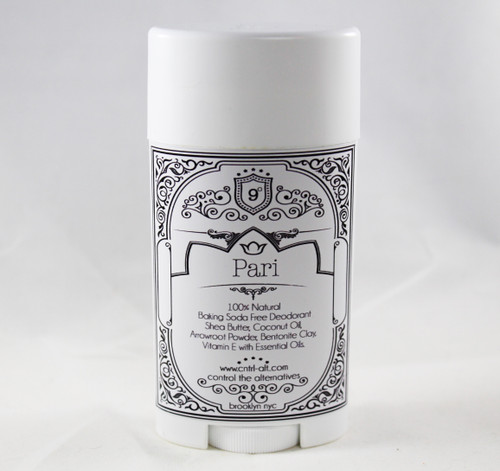 Pari  100% Natural  Baking Soda and Aluminum FREE Deodorant
