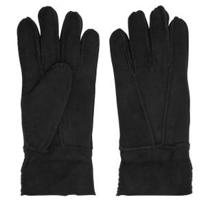 Womens Sheepskin Gloves in Black