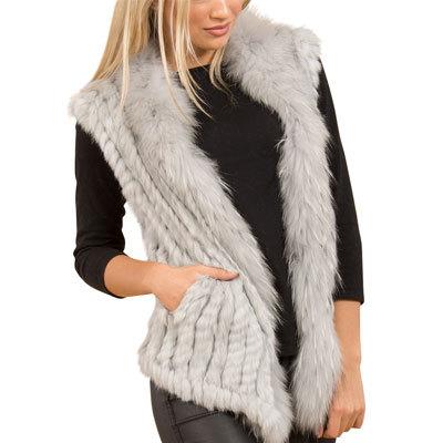 Short Fur Gilets