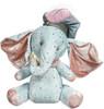 """SITTING ELEPHANT-Blue Lg 19"""""""