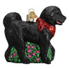 Black Doodlr Dog by Old World Christmas 12560