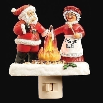 SANTA AND MRS. CAMPFIRE-134192