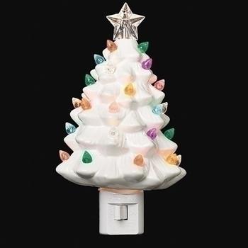 VINTAGE WHITE TREE NIGHT-160238