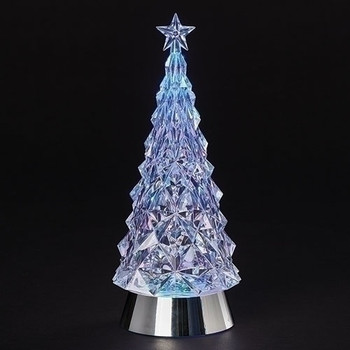 LED SWIRL TREE W/STAR-133078