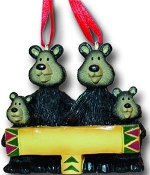 4 BLACK BEAR FAMILY - 26224