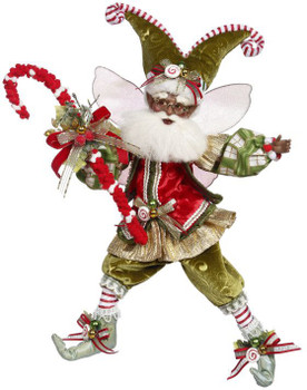 AFRICAN-AMERICAN CANDY CANE DREAMS FAIRY-MD - 51-16576