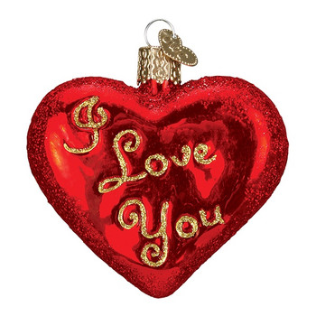 I Love You Heart by Old World Christmas 30021