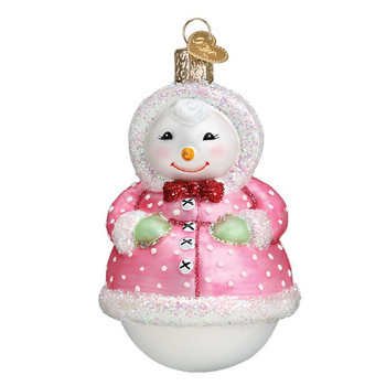 Jolly Snowlady by Old World Christmas 10231