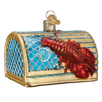 Lobster Trap by Old World Christmas 44104