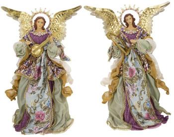 STANDING ANGEL W/BASE-19-09204-GRN