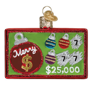 Merry Ticket by Old World Christmas 36278