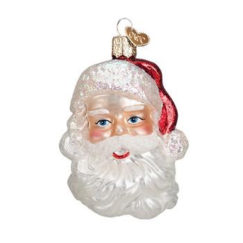 Mid-Century Santa Head by Old World Christmas 40275