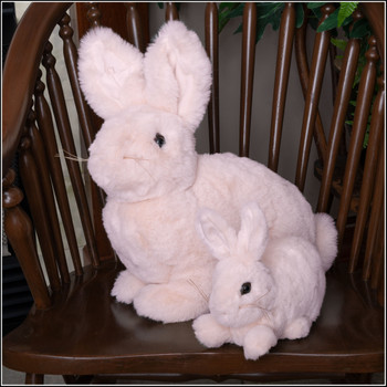 Ditz pink bunny plush