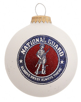 national guard ornament
