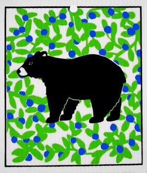 BLACK BEAR WASH TOWEL - 56-942