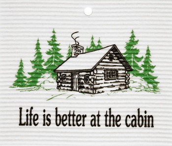 LIFE IS BETTER WASH TOWEL - 56-715