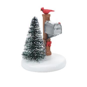 CARDINAL CHRISTMAS MAILBOX-6007661