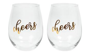 CHEERS WINE GLASSES - 4132515