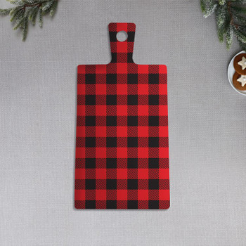 CHECKERED SERVING BOARD - 3911107