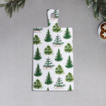 WINTER TREES SERVING BOARD  - 3987104