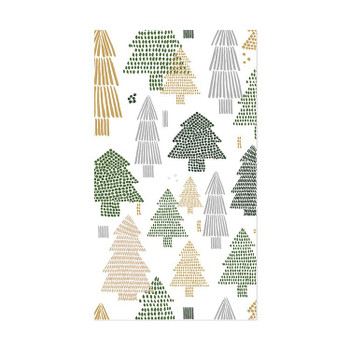 TREE REPEAT GUEST NAPKIN - 9376004G