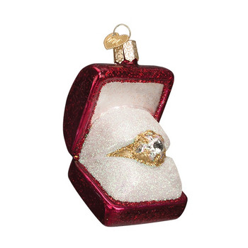 Ring in Box by Old World Christmas 32176