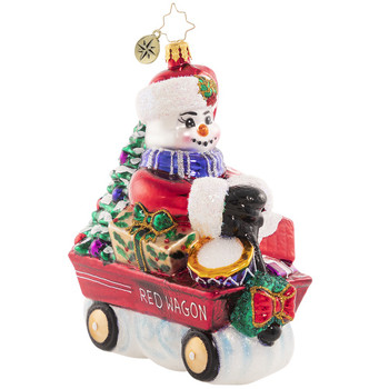 WHEELIN AND DEALIN SNOWMAN - 1020754