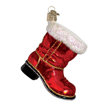 Santa's Boot by Old World Christmas 32060