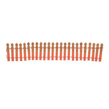 PUMPKIN ORANGE GLITTER FENCE-6007703