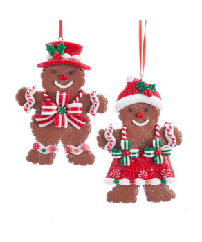 GINGERBREAD COOKIE ORN - D3626