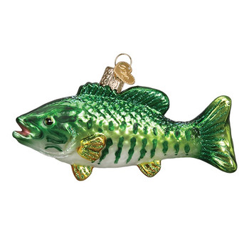 Small Mouth Bass by Old World Christmas 12522