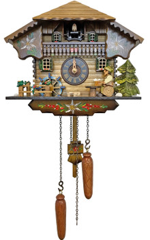 Beer drinker cuckoo clock from the black forest of germany by Alexander Taron