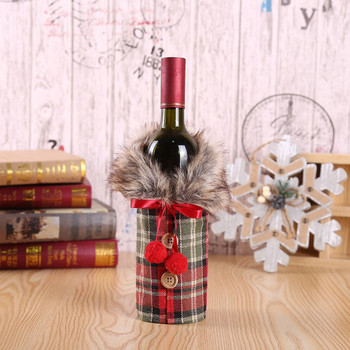 WINE BOTTLE COVER - RED